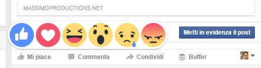 Sono arrivati i nuovi tasti 'Mi piace' di Facebook